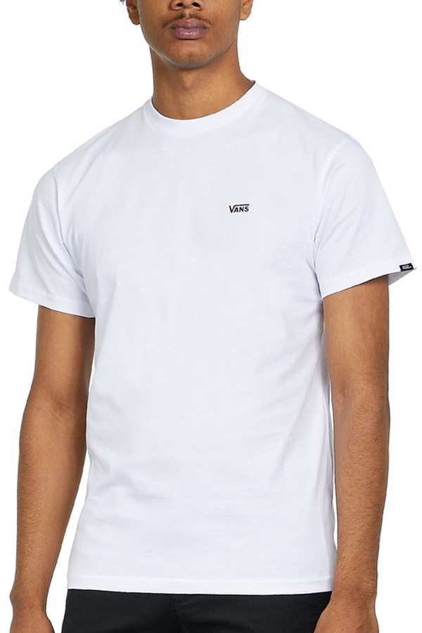 Vans Short sleeve White / black