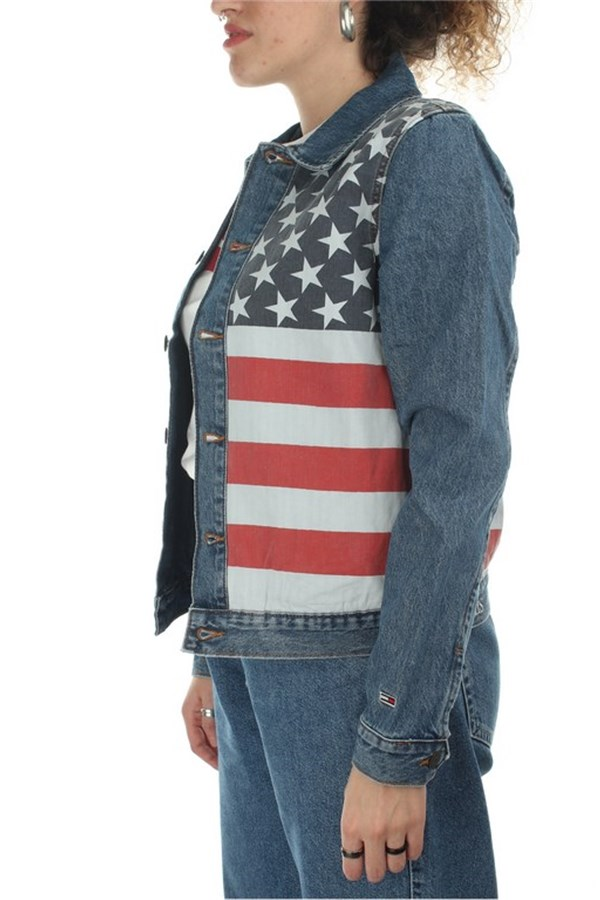 Tommy Hilfiger Jackets Denim Women DW0DW073961A4 1