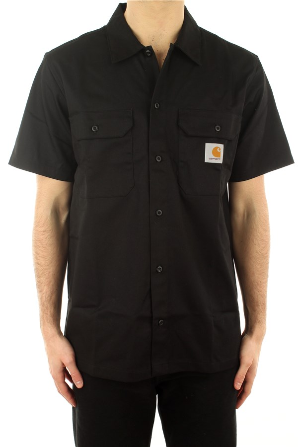 Carhartt Short sleeve shirts Black