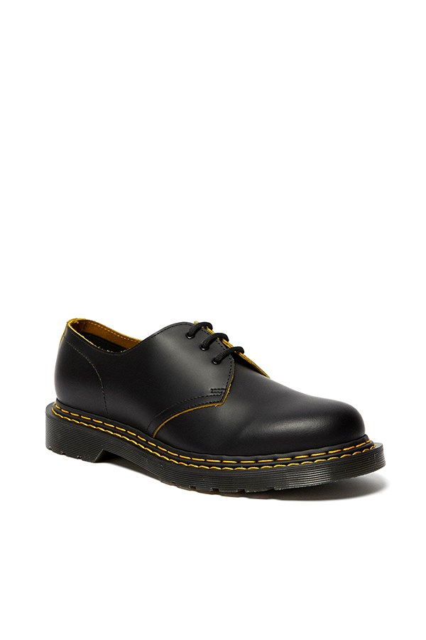 Dr. Martens Oxford Black / yellow Smooth