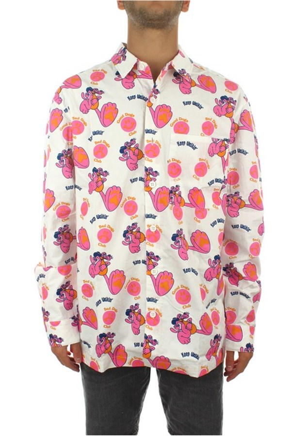 Lazy Oaf general White / pink