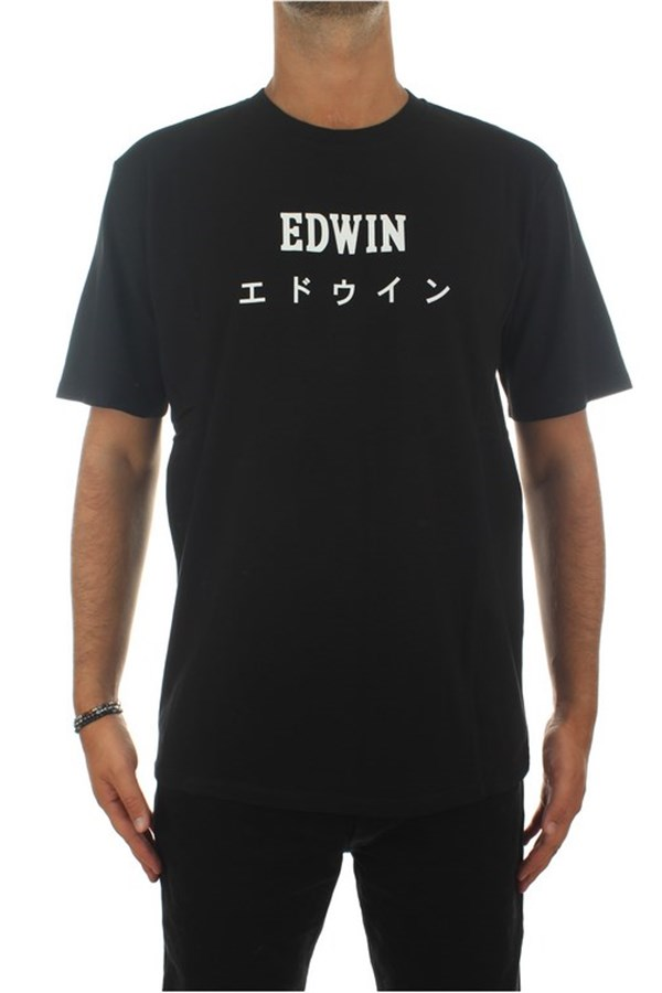 Edwin Short sleeve Black
