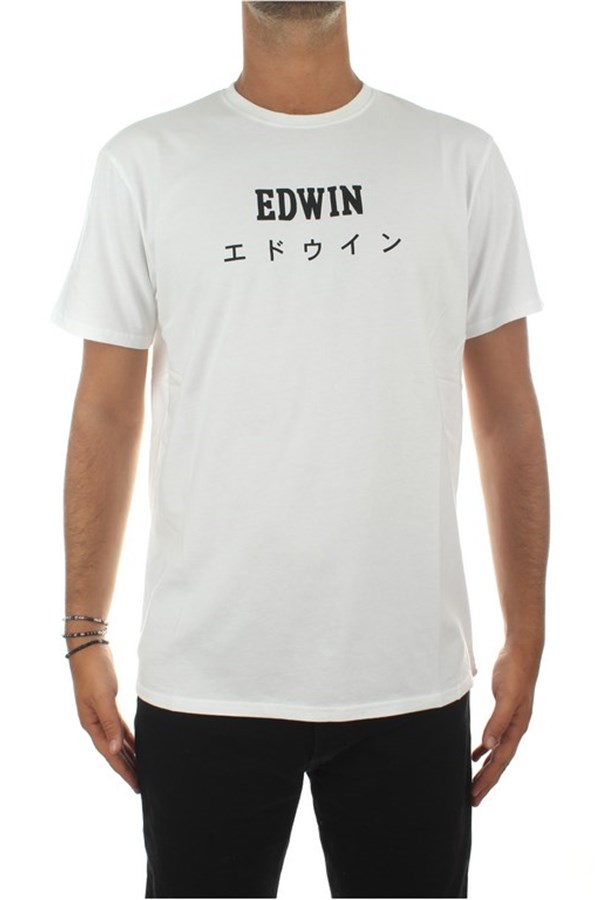 Edwin Short sleeve White