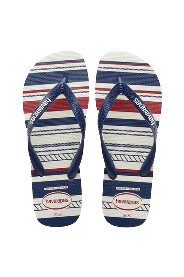 Havaianas Low shoes Flops 4137126.5035 White / navy / white