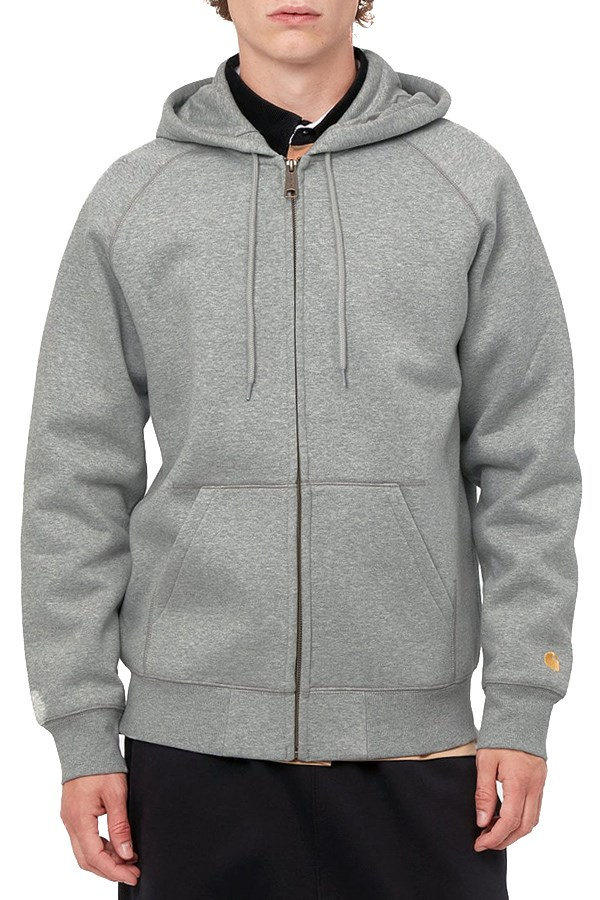 Carhartt Hooded Gray Heather / Gold
