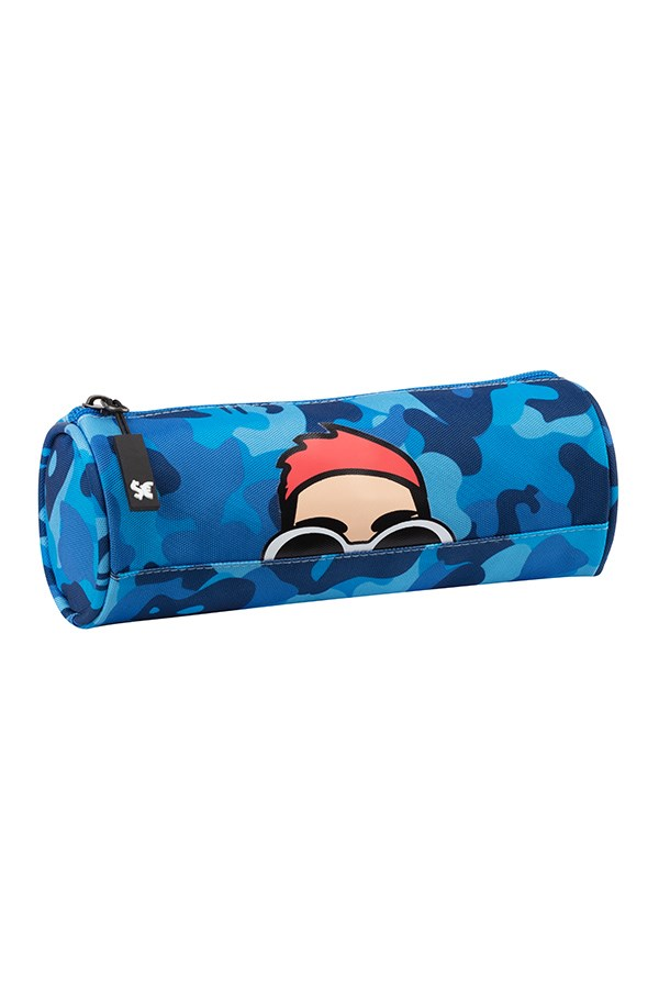 Comix School pencil cases Blue