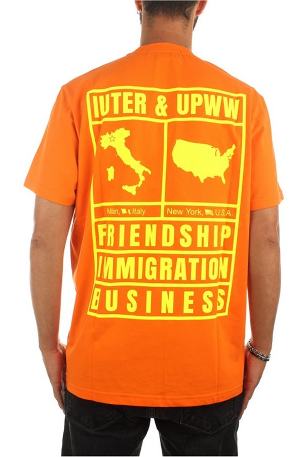 Iuter Short sleeve Orange