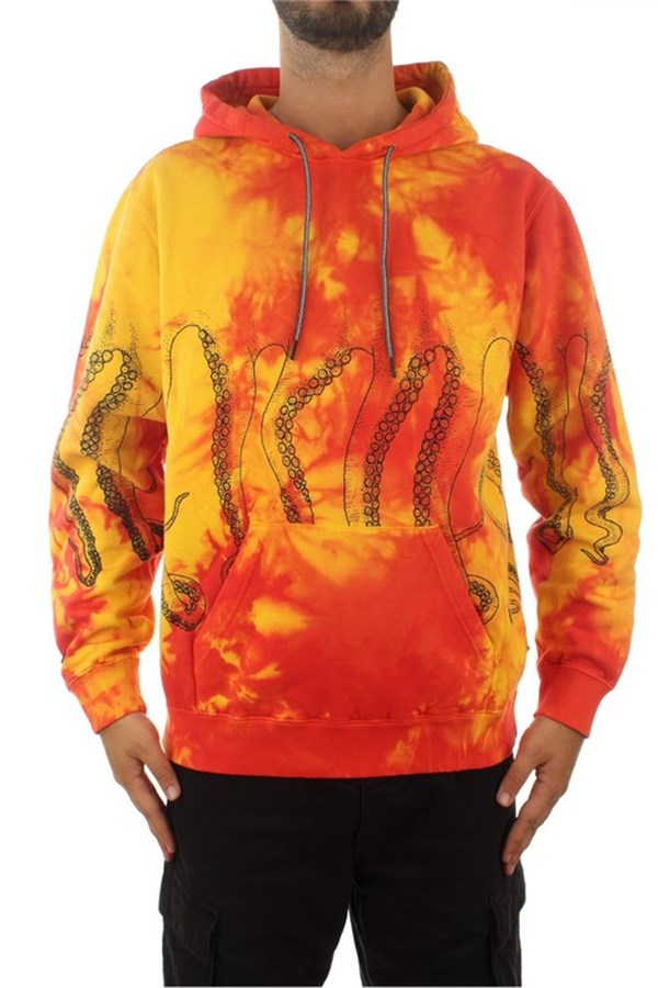 Octopus Hooded Multicolor