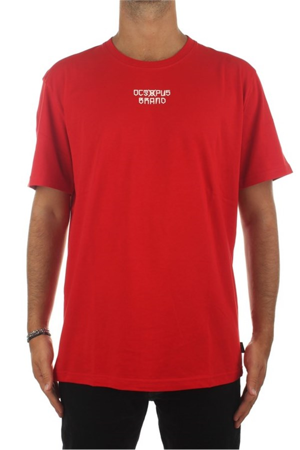 Octopus Short sleeve Red