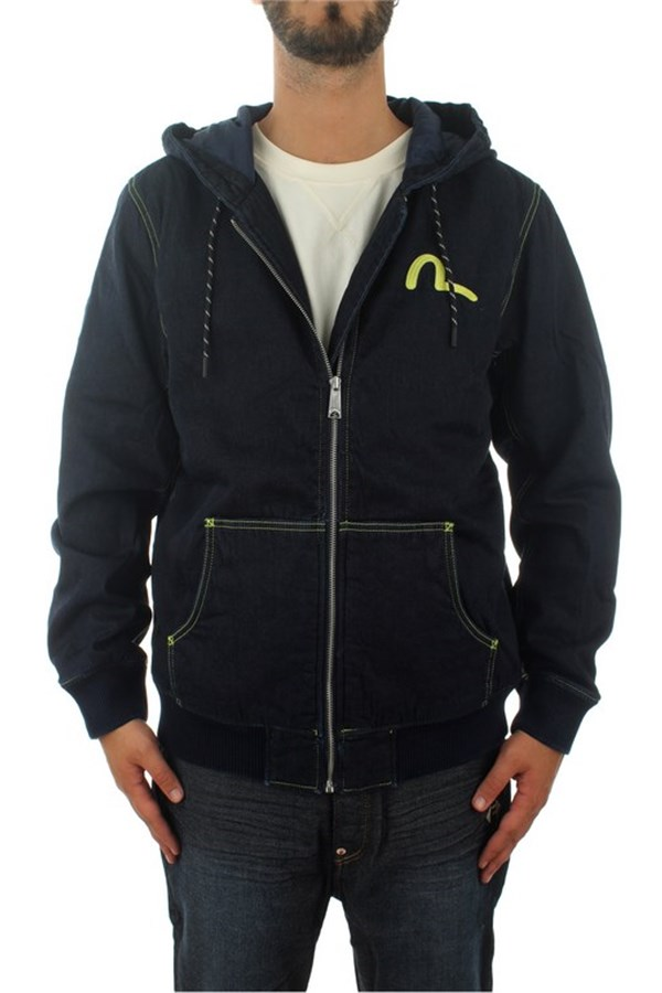 Evisu Sweatshirts With zip Man 1EAHTM9DJ108XX 0