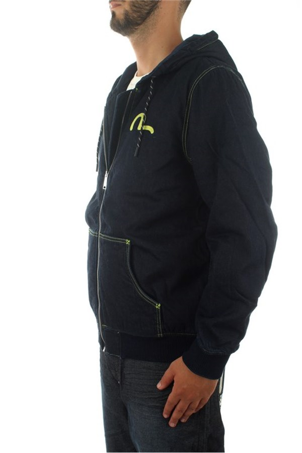 Evisu Sweatshirts With zip Man 1EAHTM9DJ108XX 1