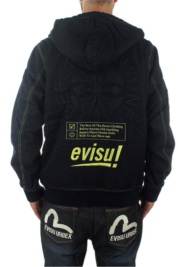 Evisu Sweatshirts With zip Man 1EAHTM9DJ108XX 2