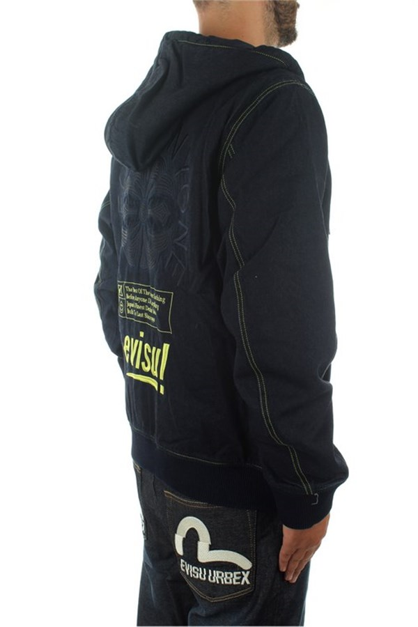 Evisu Sweatshirts With zip Man 1EAHTM9DJ108XX 3