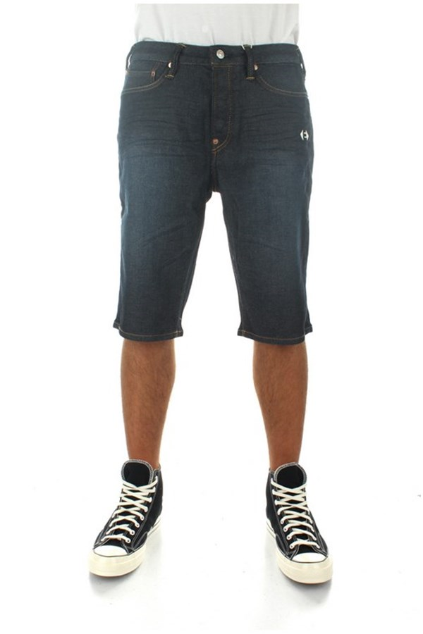 Evisu Denim Indigo (dark Tone)