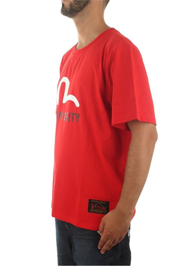 Evisu Short sleeve Chinese Red