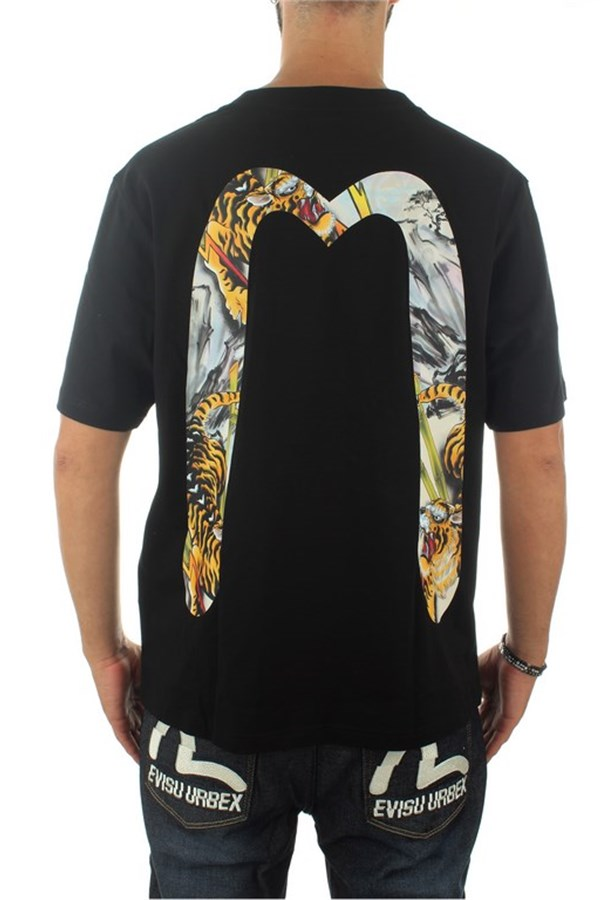 Evisu Short sleeve Black