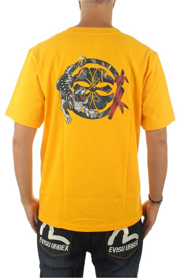 Evisu Short sleeve Fusion Yellow