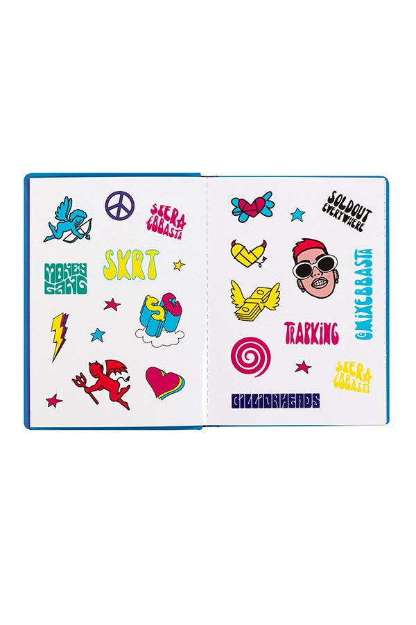 Comix school diaries Light blue