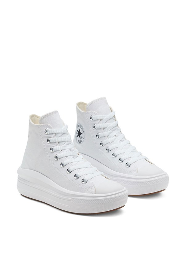 Converse high White / natural Ivory / black
