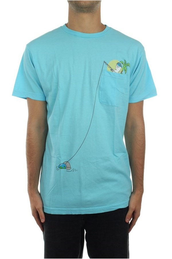 Ripndip Short sleeve Light Blue