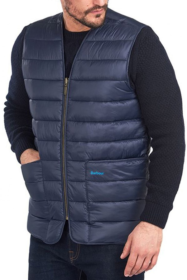 Barbour vest Navy