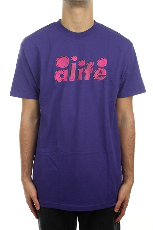 Alife® Short sleeve Purple
