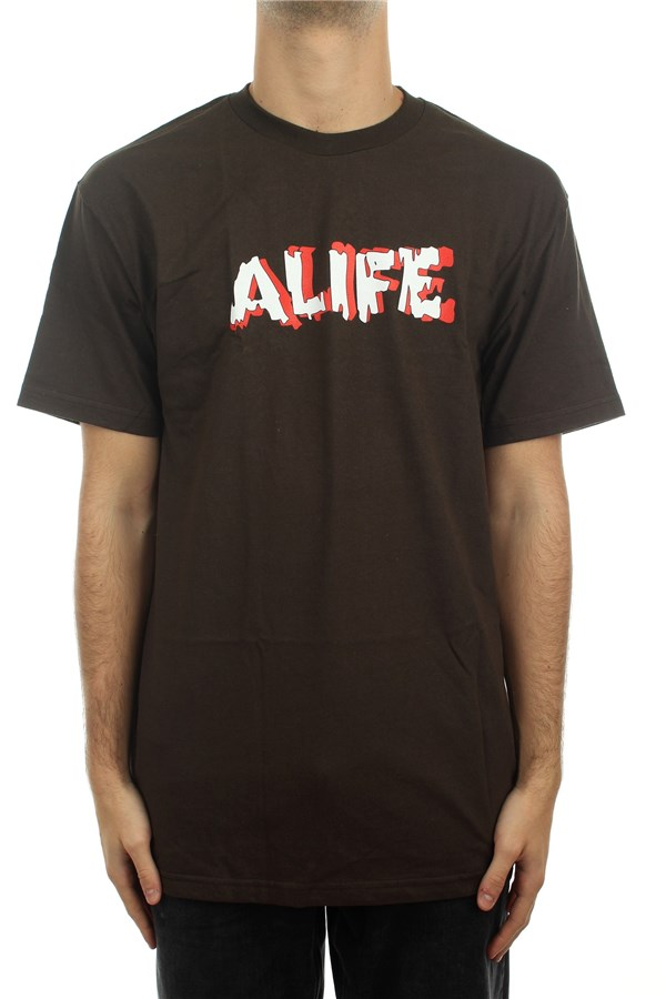 Alife® Short sleeve Dark Chocolate