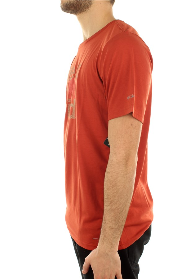 Columbia Short sleeve Carnelian Red