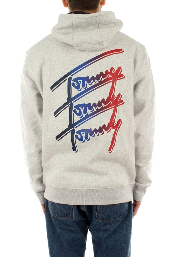 Tommy Hilfiger Hooded Silver Gray Htr