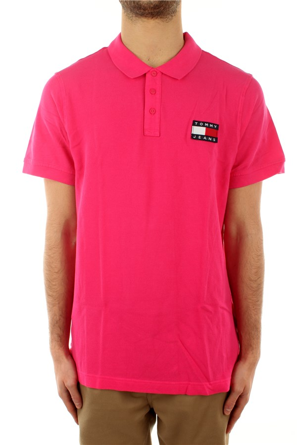 Tommy Hilfiger Short sleeves Bright Cerise Pink