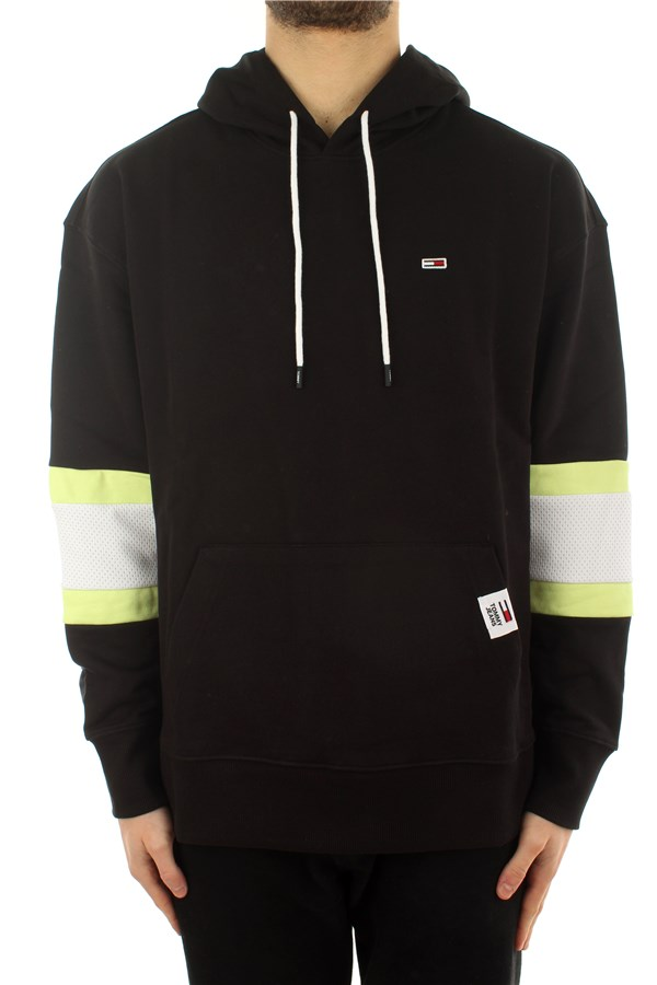 Tommy Hilfiger Hooded Black / Faded Lime