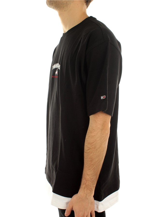 Tommy Hilfiger Short sleeve Black / White