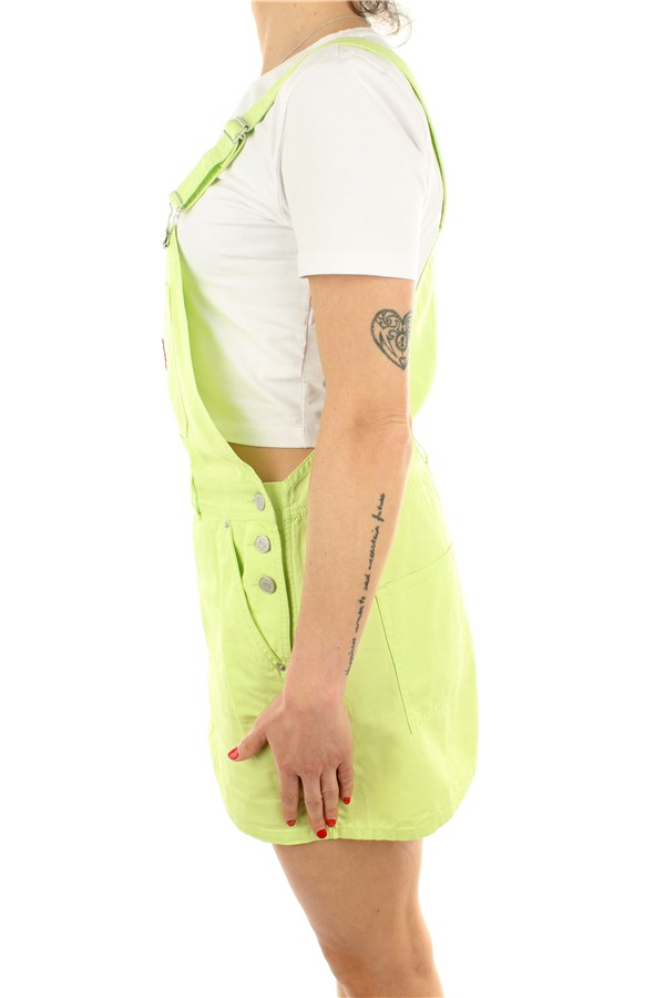 Tommy Hilfiger Dungarees Faded Lime