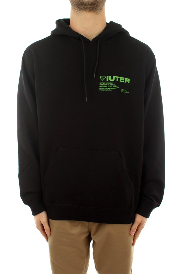 Iuter Sweatshirts Hooded Man 21SISH09 2