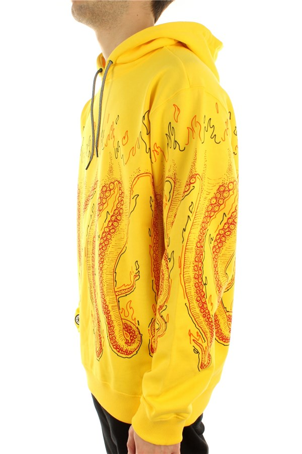 Octopus Hooded Yellow