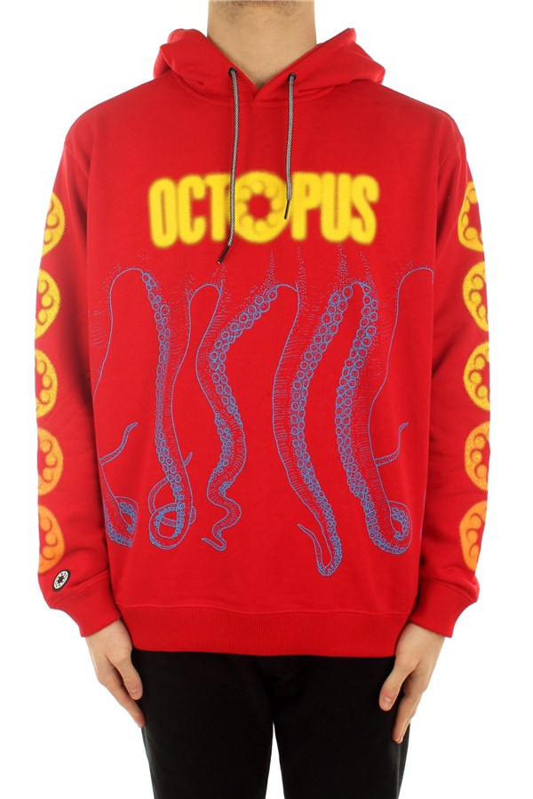 Octopus Hooded Red