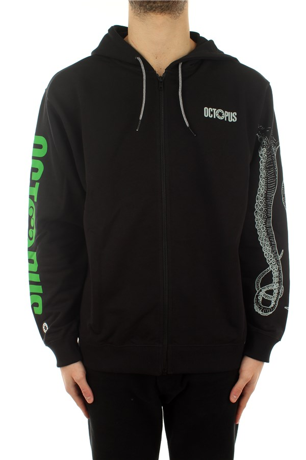 Octopus Hooded Black