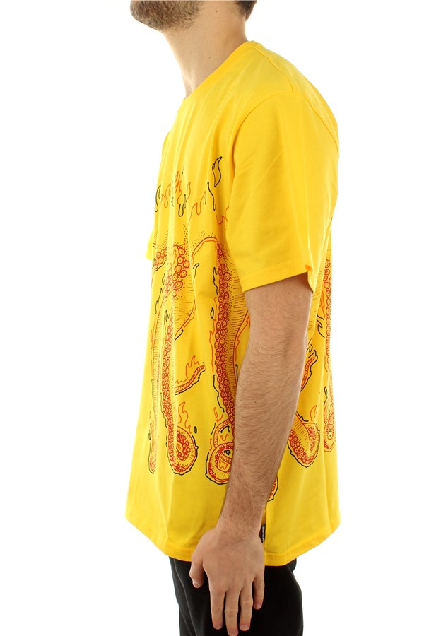Octopus Short sleeve Yellow