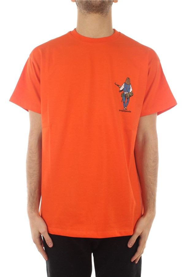 Propaganda Short sleeve Orange
