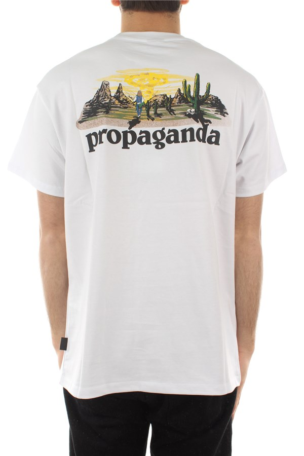 Propaganda Short sleeve White