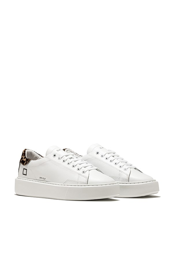 D.a.t.e low White / leopard