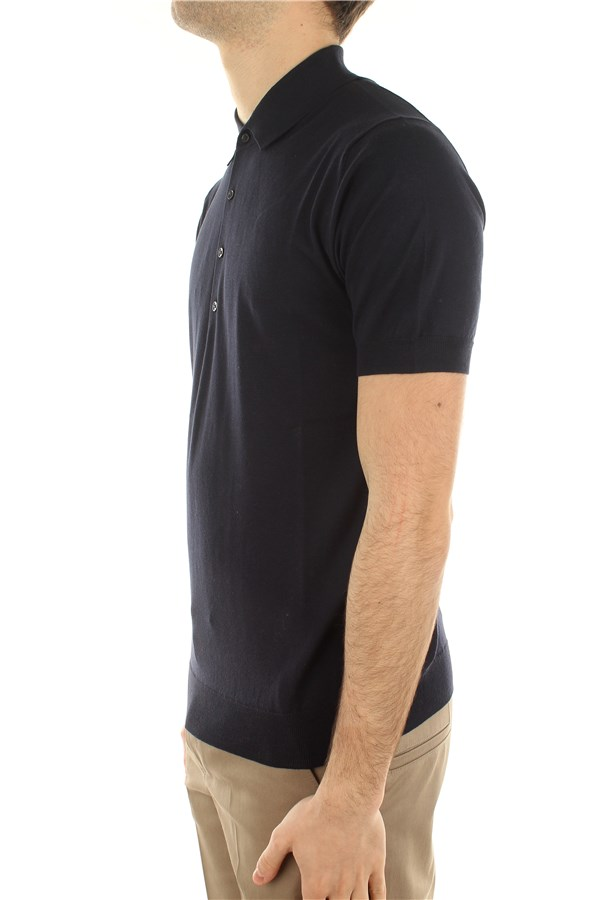 Paolo Pecora Short sleeves Blue