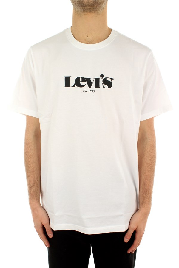 Levi's® Short sleeve Mv Ssnl Logo White