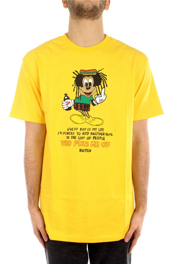 Buttergoods T-shirt Short sleeve BUG1005 Yellow