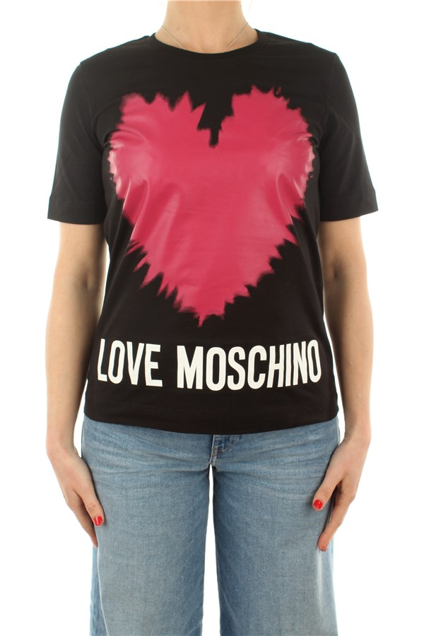 Love Moschino Short sleeve Black