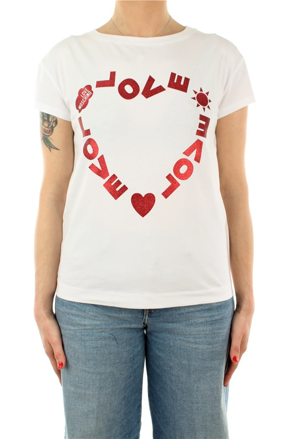 Love Moschino Short sleeve Bianca