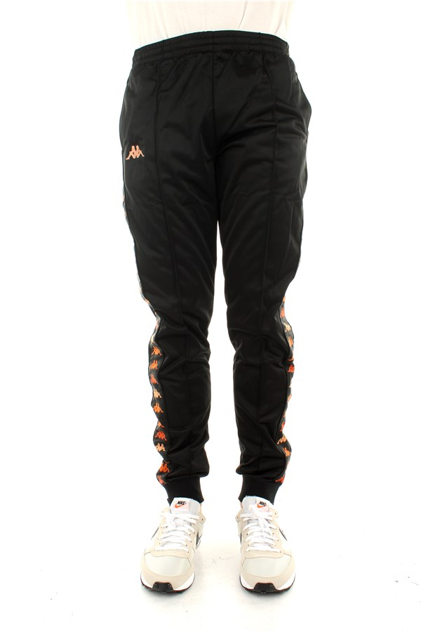 Kappa Regular Black-orange Peach