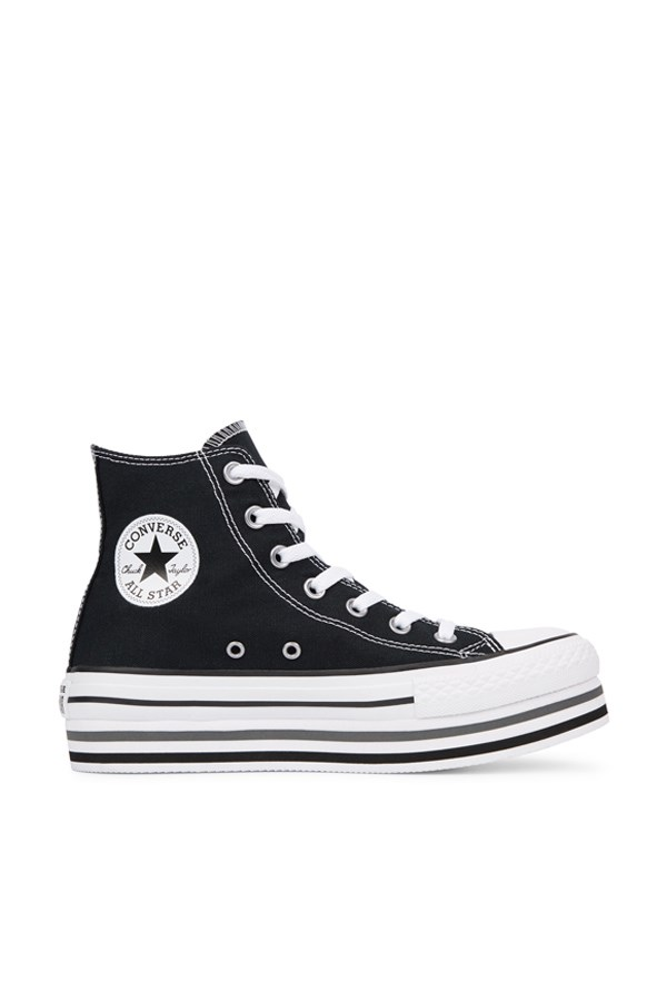 Converse high Black / white / thunder