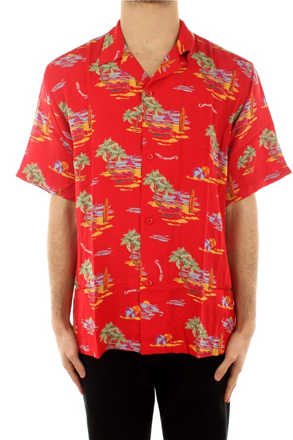 Carhartt Casual Beach Print / Etna Red