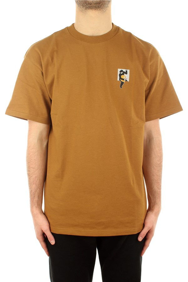 Carhartt T-shirt Short sleeve I029025 Hamilton Brown